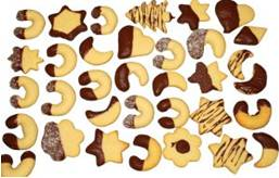 shaped cookies